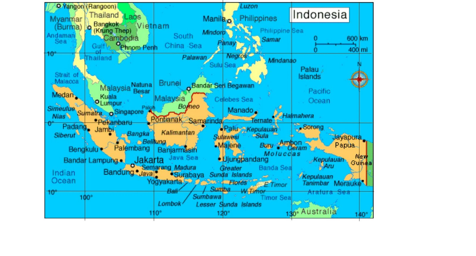 Kondisi Fisik Indonesia Komputerizam